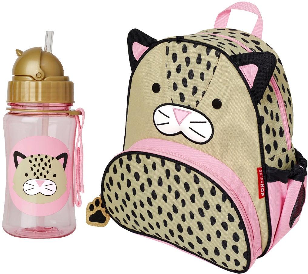 Köp Skip Hop Ryggsäck & Flaska, Leopard | Jollyroom