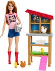 Barbie Docka Chicken Farmer Lekset