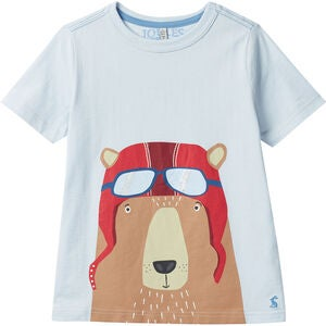 Tom Joule Ben T-Shirt, Light Blue Bear