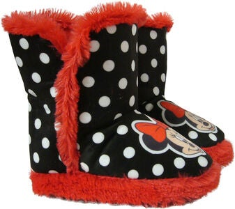 Disney Mimmi Pigg Känga, Black/Red