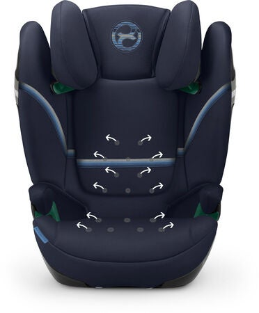 Cybex Solution S i-Fix Bältesstol, Deep Black