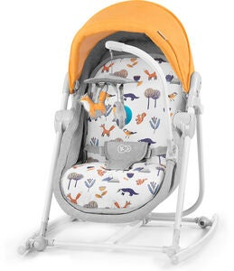 Kinderkraft 5-i-1 Unimo Babysitter 2020, forest yellow