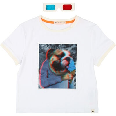 Billybandit T-Shirt & 3D-glasögon, White