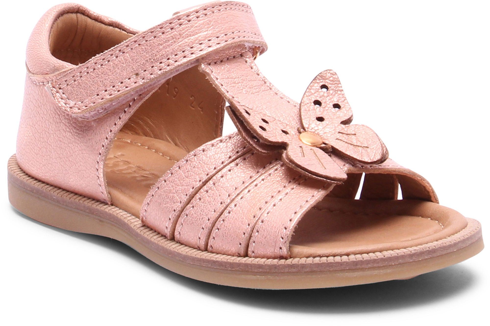 Bisgaard Sandal, Rose Gold 29