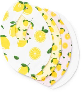 Tiny Treasure Sofia Bib 4-Pack, Yellow