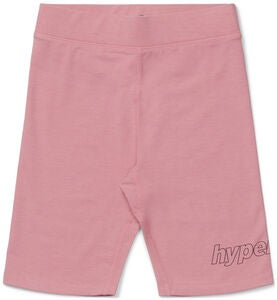Hyperfied Jersey Logo Biker Shorts, Blush