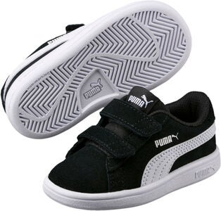 Puma Smash V2 SD Sneaker, Black/White