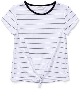 Luca & Lola Barletta Topp, White/Black Stripes