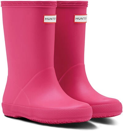 034455b9c18 Köp Hunter Kids First Classic Gummistövel, Bright Pink | Jollyroom