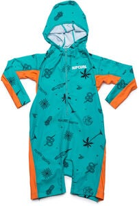 Rip Curl Kids Hooded UV-Dräkt, Turquoise
