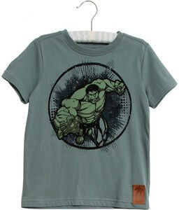 Wheat Marvel The Hulk T-Shirt, Petroleum