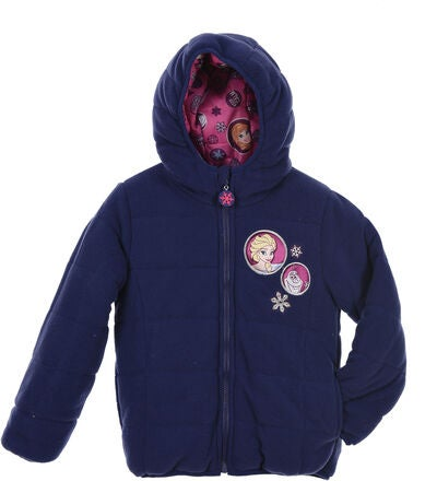 Disney Frozen Puffer Jacka, Purple