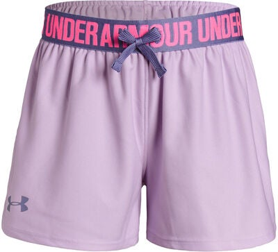 Under Armour Play Up Shorts, Purple Ace