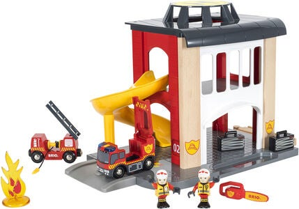 BRIO World 33833 Brandstation