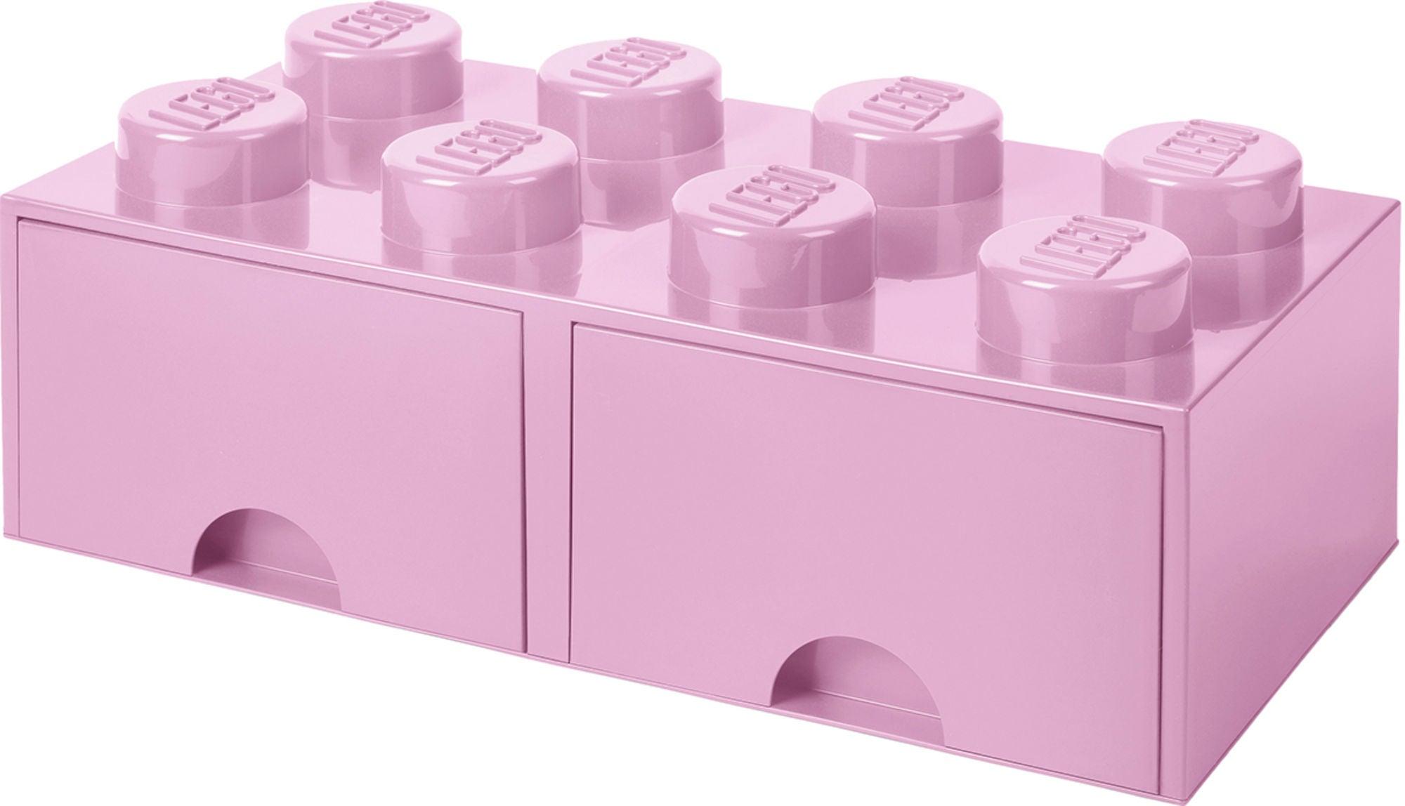 LEGO Förvaring med låda 8, Rosa