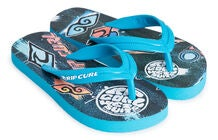 Rip Curl Brush Strokes Flip Flop, Blue