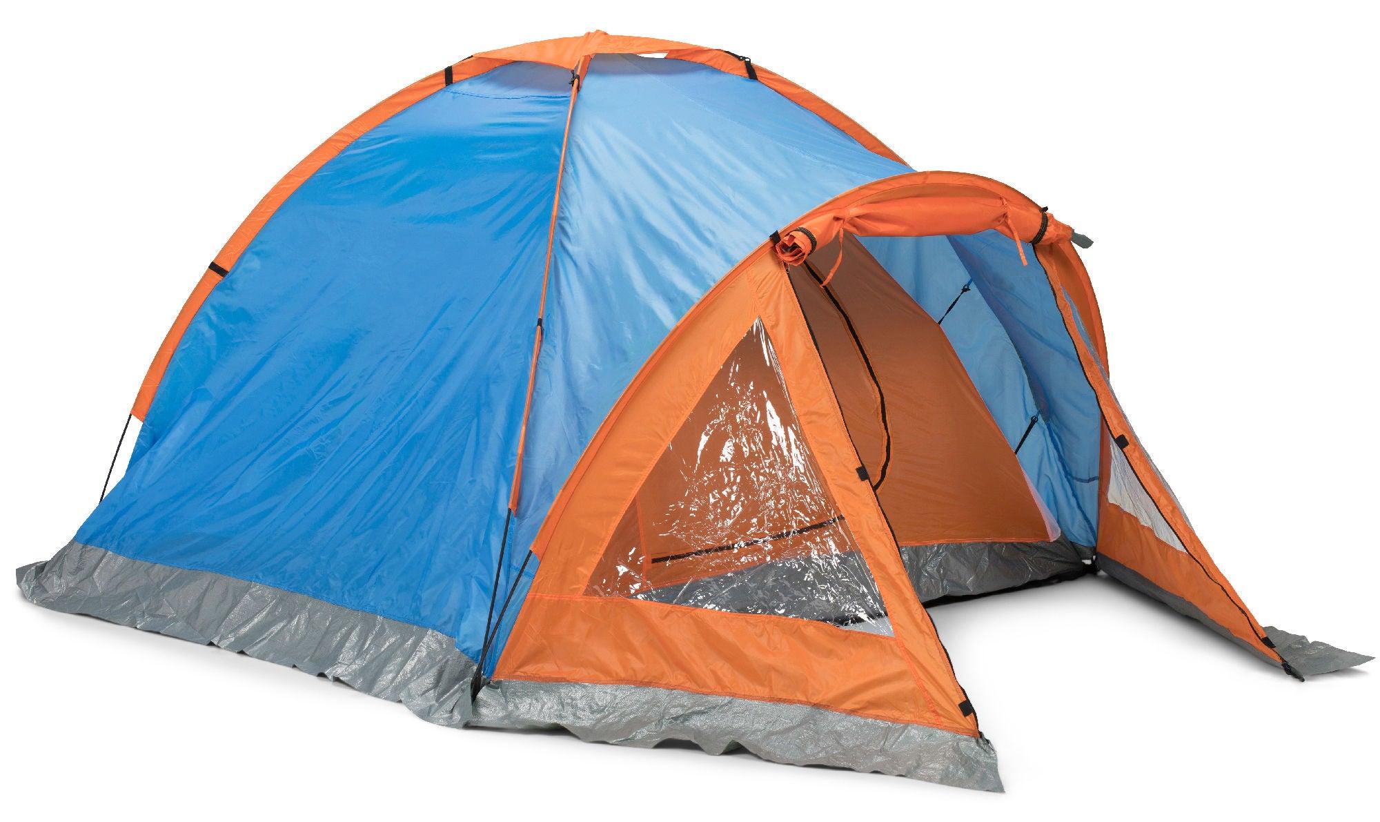 REC Dome Tält, BlåRöd REC Leksaksaffärer