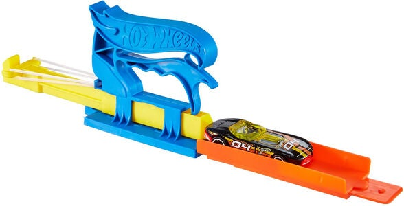Hot Wheels Lekset Pocket Launcher + Bil, Blå