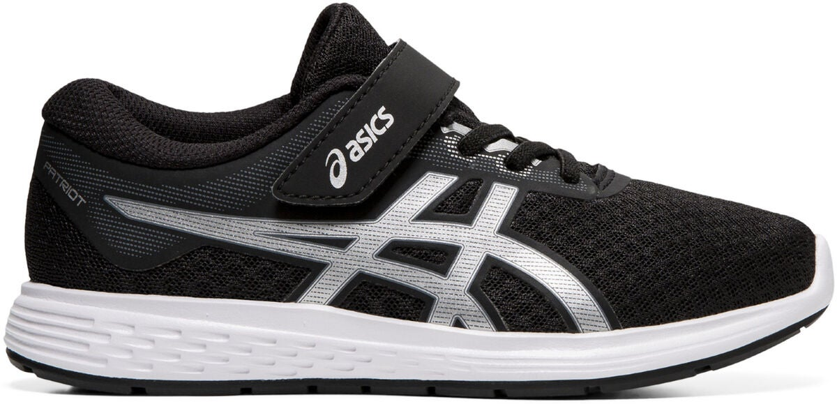 Asics Patriot 11 PS Sneaker, Black/Silver