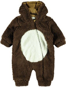 Name it Mudolph Teddy Overall, Bronze Brown
