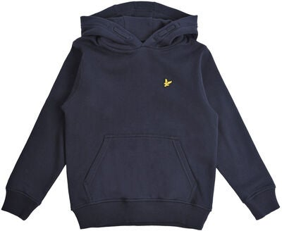 Lyle & Scott Junior Classic OTH Hoodie, Fleece Navy Blazer