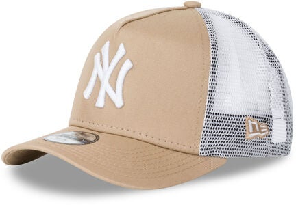 New Era League Essential TRUCK KID NE Keps, Camel/Optic White