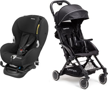 Maxi-Cosi Mobi XP, Night Black Resepaket Beemoo Easy Fly Sulky, Black