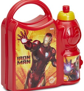 Marvel Avengers Iron Man Combo Lunchset