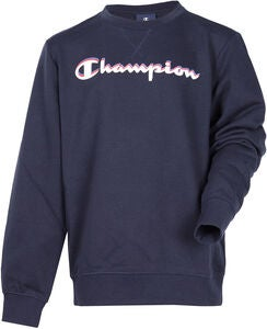 Champion Kids Crewneck Tröja, Sky Captain Blue