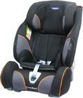 Klippan Triofix Recline Comfort Bilbarnstol, Black Orange