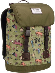 Burton Tinder Pack Youth Ryggsäck, Campsite Critters