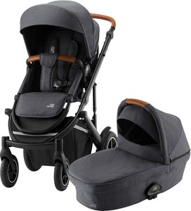 Britax Römer Smile 3 Duovagn, Midnight Grey