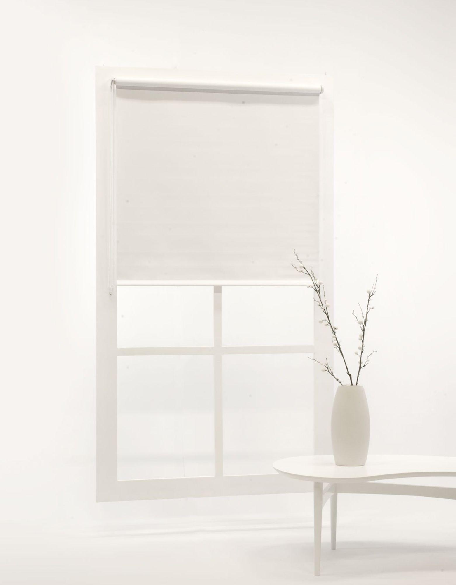 Hasta Blackout Rullgardin, White 100x185