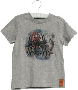 Wheat Marvel Spider-Man T-Shirt, Melange Grey