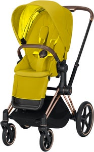 Cybex Priam Sittvagn, Mustard Yellow/Rose Gold