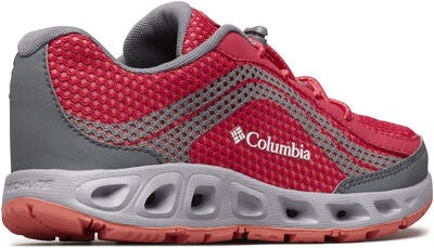 Columbia Children's Drainmaker IV Sneaker, Bright Rose/Hot Coral