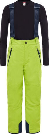 The North Face Snowquest Suspender Plus Byxa, Lime Green