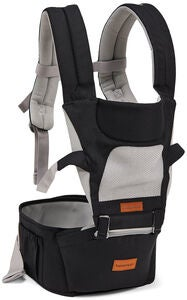 Beemoo Carry Comfort Air Bärsele, Black