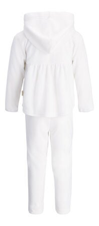 Petite Chérie Atelier Stella Fleece Set, Off White