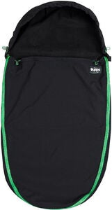 The Buppa Brand Softshell Åkpåse, All Black Green