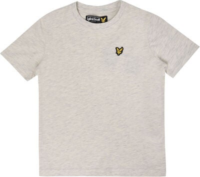 Lyle & Scott Junior Classic T-Shirt, Seashell White Marl