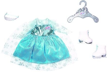 BABY Born Dockkläder Princess On Ice Set 43cm