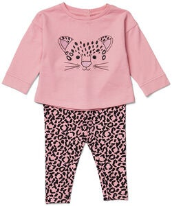 Luca & Lola Sorelina Fleece Set, Leopard