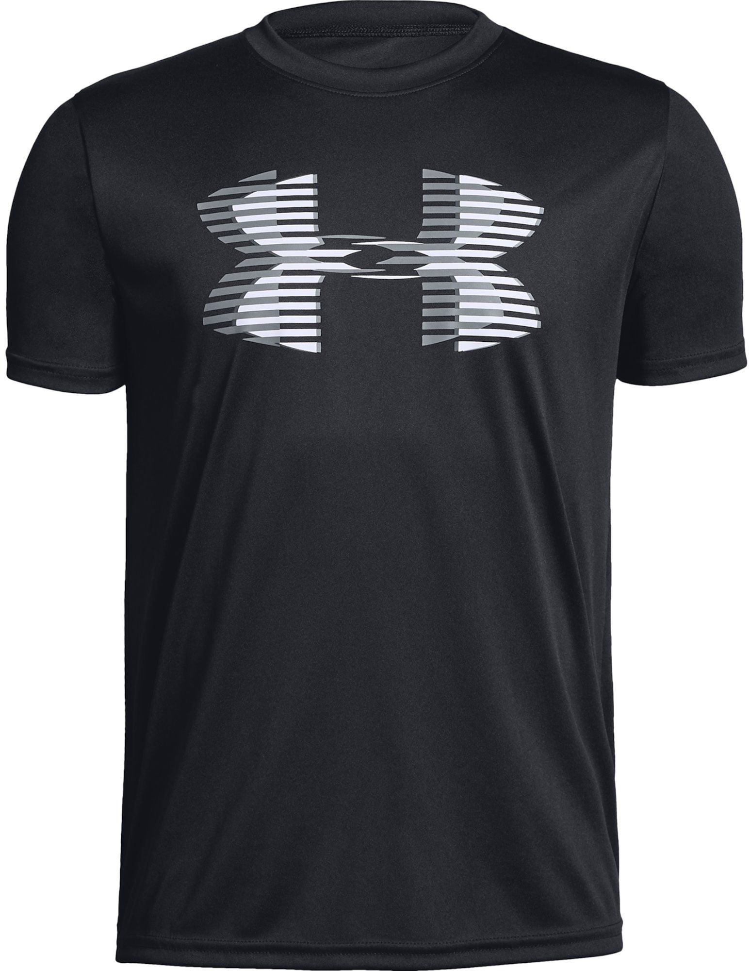 Under Armour Tech Big Logo Solid Tee, Black XS