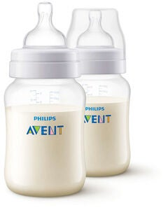 Philips Avent Anti-Kolik Nappflaska 2-pack 260ml, Vit