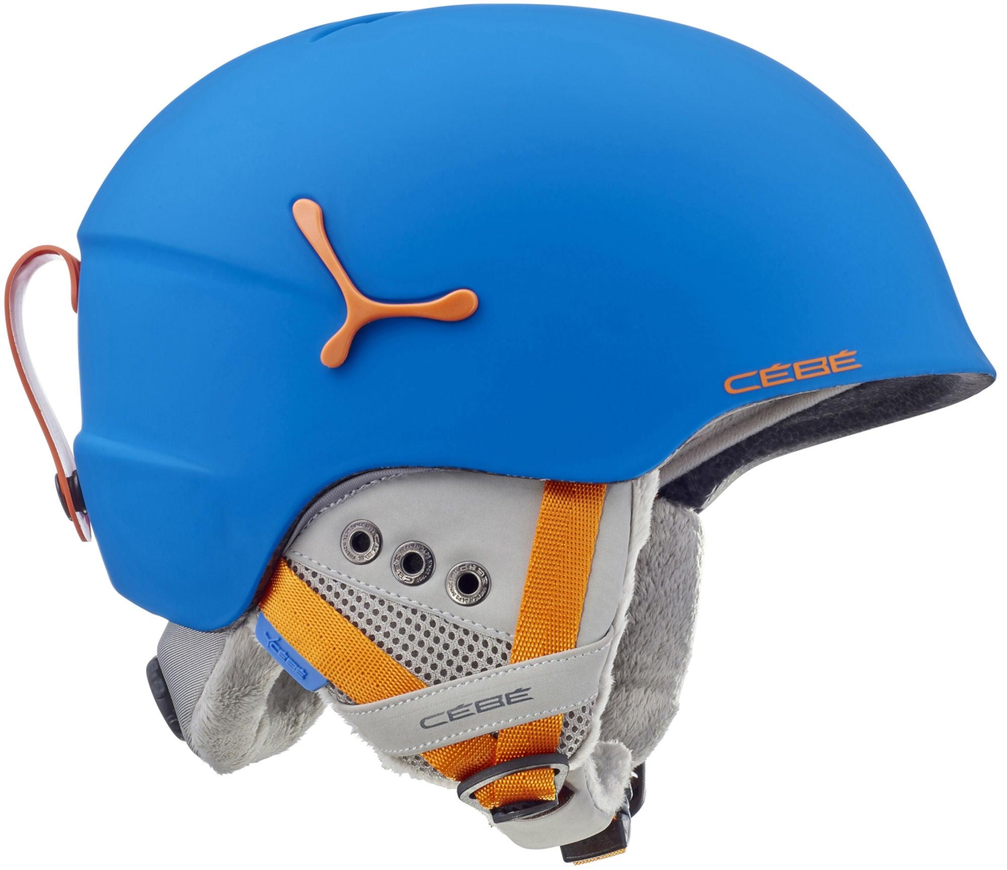 Cébé Suspense Deluxe Skidhjälm, Blue/Orange 51-53