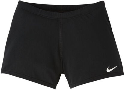 Nike Swim Solid Square Leg Badbyxa, Black