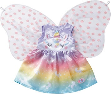 Baby Born Unicorn Fairy Outfit, 43 cm