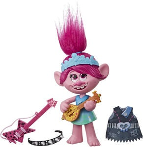 Trolls Pop To Rock Figur Poppy