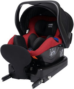 Axkid Modukid Infant Babyskydd Inkl. Bas, Red